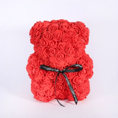 Amour Rose Baby Bear Red (22 x 20 x 15cm)
